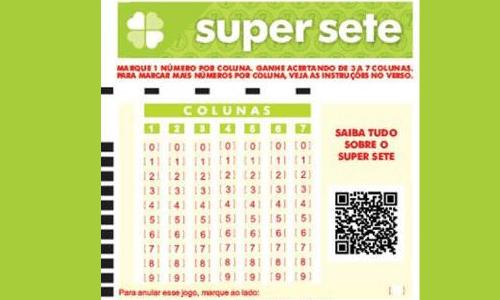 Loterias Caixa lançam 'super sete' - Jornal Estação